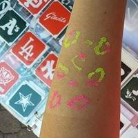 Fist full of glitter tattoos
