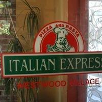 Italian Express in Westwood Village, UCLA