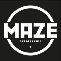 Maze Sérigraphie