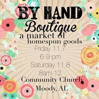 By Hand Boutique Homespun Market