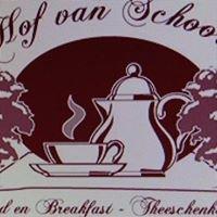 Hof van Schoor  - Theeschenkerij -