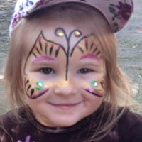Festive Face Painting by Cami