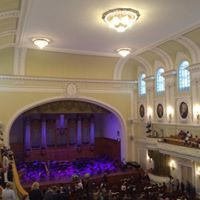 Большой Зал Московской Государственной Консерватории Им П. И. Чайковского
