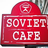 """Soviet cafe """"Kvartirka"""""""