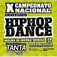 Campeonato Nacional hip hop dance Murcia
