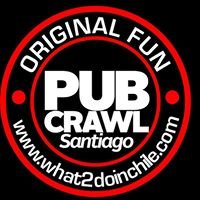 Pub Crawl Santiago, Chile.