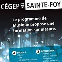 Département de musique du Cégep de Sainte-Foy