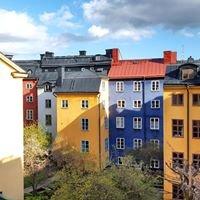 По Стокгольму с облаками