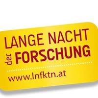 Lange Nacht der Forschung - Kärnten