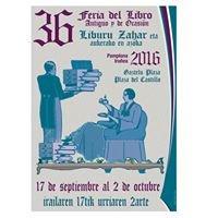 Feria del libro antiguo y de ocasión de Pamplona