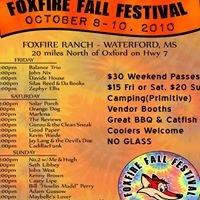 Fox Fire Fall Festival