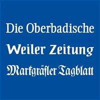 Die Oberbadische - Markgräfler Tagblatt - Weiler Zeitung