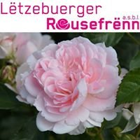 Lëtzebuerger Rousefrënn asbl - Luxembourg Rose Society