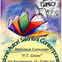 """Biblioteca Comunale """"F.T.Gnoni"""" di Tuglie"""