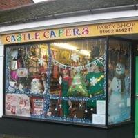 Castle Capers Party Shop
