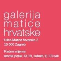 Galerija Matice hrvatske