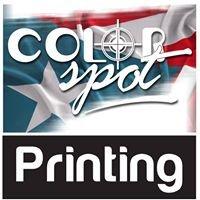 Color Spot Printing