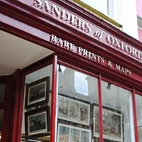 Sanders of Oxford.                      Antique Prints & Maps