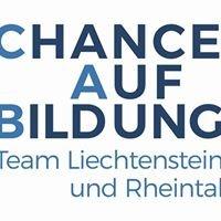 Chance auf Bildung - Team Liechtenstein & Rheintal