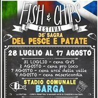 Sagra del Pesce e Patate - Barga (Fish & Chips Festival)
