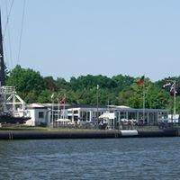 Brückenterrassen und Schiffsbegrüßungsanlage