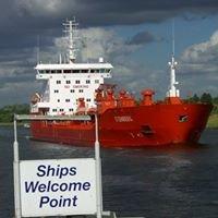 Schiffsbegrüßungsanlage in Rendsburg
