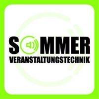 Sommer-Veranstaltungstechnik