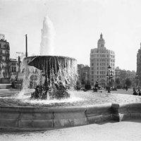 Plaça de Catalunya ahir i avui