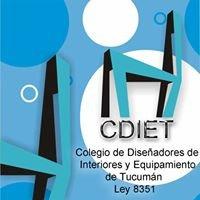 Colegio de Diseñadores de Interiores y Equipamiento de Tucumán - Ley 8351