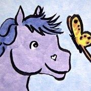 Purple Pony Art