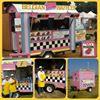 Pink Waffle Cabin     - SA Belgian Waffles Ptyltd