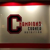 Champion's Corner Nutrition