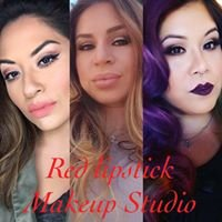 Red Lipstick Makeup Studio