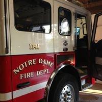 Notre Dame Fire Department