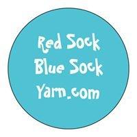 Red Sock Blue Sock Yarn