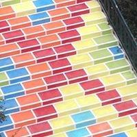 Stair Art Prunelle