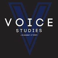 Voice Studies at the University of Toronto