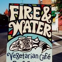 Fire & Water vegetarian Cafe & performance space