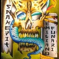 Snakepit Tattoo di Emiliano Funari