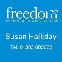 Freedom Personal Travel Advisor, Susan Halliday