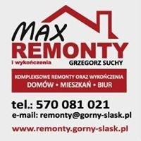 MAX Remonty i wykończenia