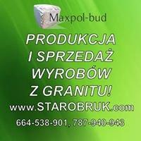 Starobruk Kostka Granitowa  Maxpol-bud