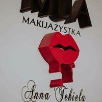 Anna Tekiela -makijazystka.