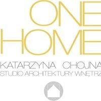 ONE HOME Katarzyna Chojna