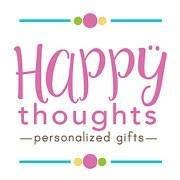 Happy Thoughts Monogrammed Gifts