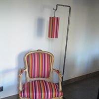 La maison de l'abat-jour et du fauteuil