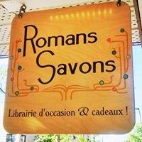 Romans Savons Librairie d'occasion
