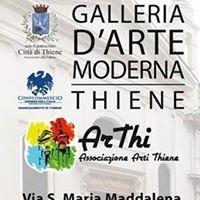 """Galleria d'Arte Moderna -""""già chiesetta di Santa Lucia""""-"""