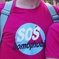 SOS homophobie - délégation lyonnaise