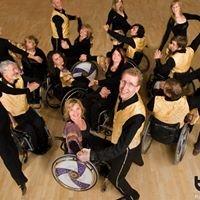 T-Roller Rollstuhl Tanz Formation